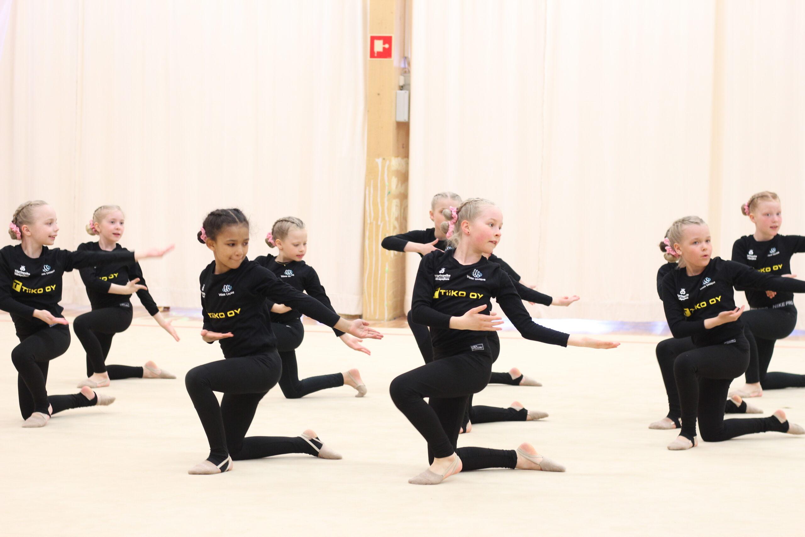 Haemme lisää 8-10-vuotiaita voimistelijoita – Kokeilupäivä 24.8.